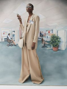 Nagi Sakai for Vogue Spain with Debra Shaw   Fashion Editorials Business Photos, Business Fashion, Business Women, Vogue Editorial, Editorial Fashion, Vogue Spain, Character Costumes, Office Looks, Fashion Stylist