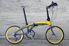 Tern folding bike, fast folder