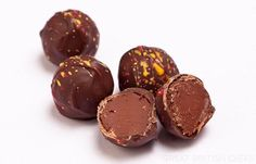 Pimm's Truffle Recipe - treat your mum to a taste of British summer with this great recipe