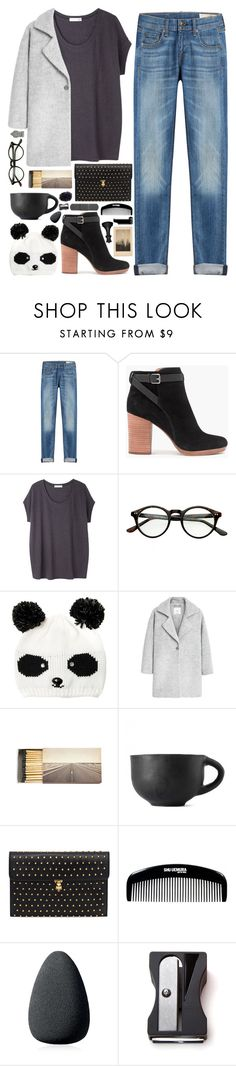 """""""Untitled #203"""" by blue999000 ❤ liked on Polyvore featuring rag & bone, Madewell, Tsumori Chisato, MANGO, Jayson Home, Alexander McQueen, Christian Dior, Monkey Business and Universal Lighting and Decor"""