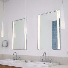 4 fresh ideas for updating your bath lighting (that go beyond the basic bath bar)