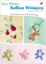 The perfect beginner's guide to bullion stitch embroidery! With this DVD, watch the step-by-step process. karimeaway.com