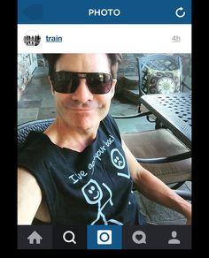 Patrick Monahan, Train Music, Mens Sunglasses, Band, Sash, Man Sunglasses, Bands, Tape, Conveyor Belt