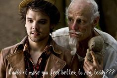 "<3 Syfy's ""Alice"" I loved this mini series. Especially the fact that Andrew Lee-Potts was Hatter. He's my favorite!"