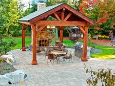 Backyard Gazebo Ideas creative design space jacksonville custom outdoor kitchens summer kitchens backyard design outdoor pergolapergola ideaspatio Find This Pin And More On Outdoor Spaces Structures Pavilions Canopies Httpshopshedscompavilions Canopies Gazeboshtm