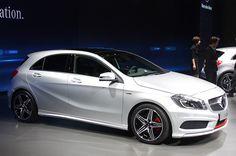 벤츠 A 클래스 해치백 나왔다!  - Benz A claas hatch reveal at geneva motor show