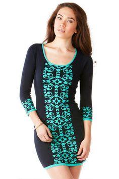Tallulah Tribal Sweater Dress