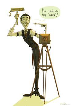 Otto von Chriek by breebird on DeviantArt Vampire Tumblr, Discworld Books, Terry Pratchett Discworld, Character Design, Fandoms, Fan Art, Deviantart, Inspiration, Book Illustrations