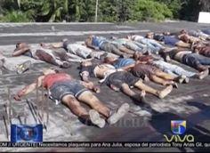 Imágenes Fuertes. Policía Venezolana Masacra A 37 Presos En Carcel Del Estado Amazonas