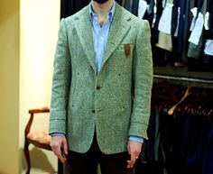 Final tweed jacket from Cifonelli - Permanent Style