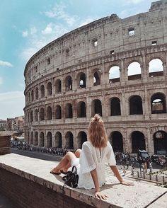 Sightseeing in Rome, day 1 ✔️ #jemercedinitaly