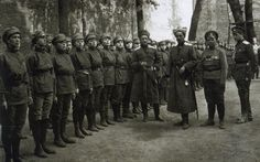 The 1st Russian Women's Battalion of Death was the first and most famous of 15 all-female Russian units created during World War I. It was organized by Maria Bochkareva in 1917 under the direction of the Russian minister of war. The idea behind the formation of the battalion was essentially to simultaneously motivate and shame demoralized male soldiers into fighting.
