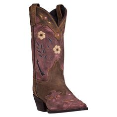 Laredo Women's Floral Western Boots