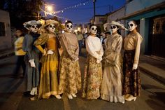 Day of the Dead Catrinas on Parade