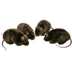 "6"" Furry Rat (1 count)"