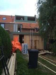 12-11-2015: De dakkapel is al ver klaar. Volgende week de ramen erin.