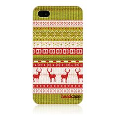 Give your iPhone a warm yet stylish image this Holiday season with this collection of Knitted Christmas designs for Apple 4 and 4s
