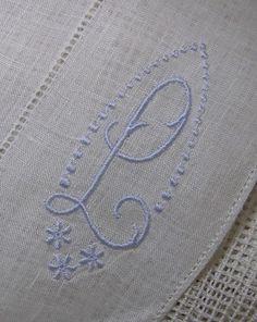 Monogram Irish Linen