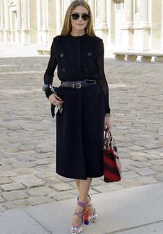 Olivia Palermo style at Paris Fashion Week