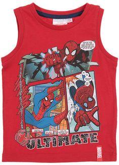 Spiderman Débardeur imprimé sur shopstyle.fr