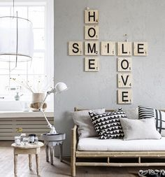ideas para decorar paredes 5 – home acssesories Home Decor Bedroom, Diy Home Decor, Bedroom Ideas, Home And Living, Living Room, Modern Living, Living Area, Home And Deco, Home Fashion
