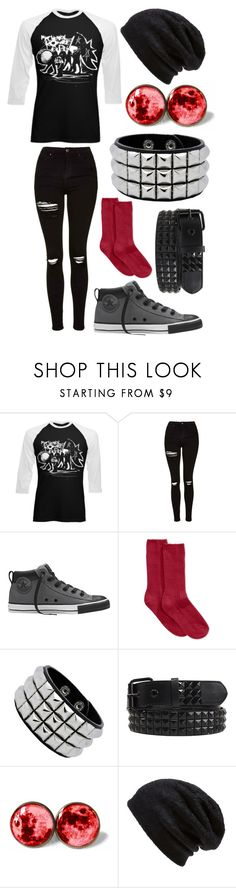"""""""Untitled #210"""" by tylerjoseph-890 ❤ liked on Polyvore featuring Topshop, Converse, Hue and Barefoot Dreams"""