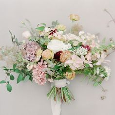 """""""The sweet pastels of this bouquet make it so perfect for a #Spring bride! : @jeannidunagan 