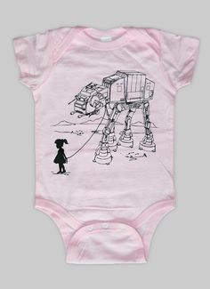 My Star Wars AT-AT Pet - Baby Onesuit Bodysuit ( Star Wars baby ) on Wanelo
