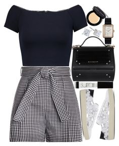 """Untitled #1815"" by mihai-theodora ❤ liked on Polyvore featuring Chanel, Zimmermann, Givenchy, Alice + Olivia, Surratt, Yves Saint Laurent and Bobbi Brown Cosmetics"