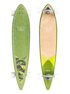 Pin Line Floral - Longboard 3700910108052 Pintail Longboard, Long Boarding, Longboards, Skateboard, Fashion Ideas, Military, Fitness, Floral, Red