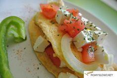 Najprostszy omlet świata- przepis na omlet bez mąki - Pomyslowi.net