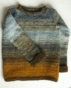 Ravelry: tinygiraffe's Shipwrecked in an Autumn Storm   -- the beauty of knitting with handspun versus commercial yarn