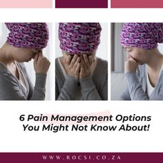 When it comes to treating cancer pain, there isn't a one-size-fits-all approach. Here are six options you may not be aware of. For more information or to schedule a consultation call ROCSI on 011 482 1484. Alternatively email admin@rocsi.co.za or send us a private message. #breastcancerawareness #breastcancer #breastcancersurvivor #breastcancerwarrior #cancer #survivor #womenshealth #health #pinkribbon #cancercommunity #ROCSI #DrSerrurier #DrCharlesSerrurier Breast Cancer Support, Breast Cancer Survivor, Breast Cancer Awareness, Health Tips, Health Care, Cancer Fighter, Pain Management, Schedule, Timeline