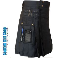 The Cargo Kilt for Working Men is a hard-wearing quilt that is perfect for any hard-working man. Although its made like traditional Scottish kilts, the Cargo Kilt for Working Men is a modern design that is meant for work, not ceremonial dress. Fashioned out of durable 100 percent cotton cloth, the kilt is rugged and ideal for the playing field or the job site. argo Kilt for Working Men