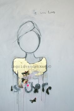 """""""One half is there with you..."""" 100x120cm"""