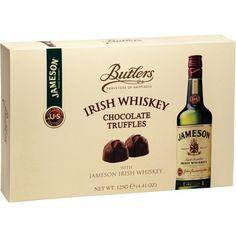 Butlers Jameson Irish Whiskey Chocolate Truffles - http://bestchocolateshop.com/butlers-jameson-irish-whiskey-chocolate-truffles/