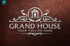 GrandHouse - Luxury Real Estate Logo by PenPal on @creativemarket
