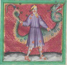 Astrologische Handschrift für König Wenzel IV. von Böhmen 14. Jh. Clm 826 Folio 40
