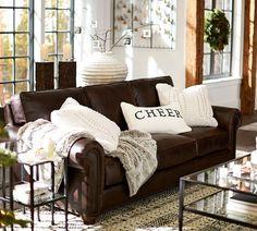 Webster Leather Sofa