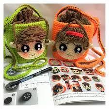Bildergebnis für crochet idsmd Crochet Pouch, Crochet Purses, Cute Crochet, Crochet Hats, Kids Purse, Crochet Phone Cases, Crochet Mobile, Cell Phone Pouch, Girls Bags