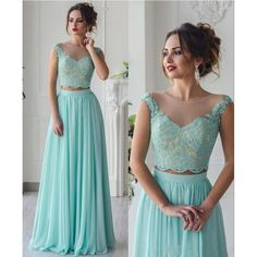 Prom Dress, Lace Dress, Formal Dress, Mint Dress, Chiffon Dress, Lace Prom Dress, Mint Lace Dress, Mint Prom Dress, Dress Prom, Pageant Dress, Dress Formal
