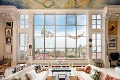 Wohnung hohe Decken Ideen Einrichtung Dekoration
