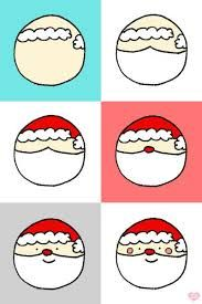 Image result for painted christmas rocks