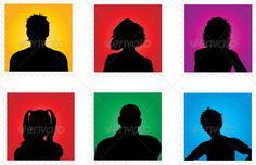 Realistic Graphic DOWNLOAD (.ai, .psd) :: http://vector-graphic.de/pinterest-itmid-1000627206i.html ... People Avatars ...  avatar, background, boy, female, girl, head, male, man, people, portrait, silhouette, silhouettes, teen, teens, vector, woman, young, youngsters, youth  ... Realistic Photo Graphic Print Obejct Business Web Elements Illustration Design Templates ... DOWNLOAD :: http://vector-graphic.de/pinterest-itmid-1000627206i.html