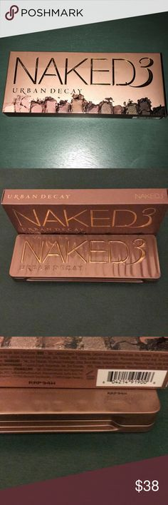 Urban Decay Naked 3 Brand new and 100% authentic. Check out my ratings! Purchased from Nordstrom - please see photo. NO TRADES. Trading offers will be blocked permanently from my closet. I have two available. Ships in 1-2 business days. ❤️ reasonable offers considered Urban Decay Makeup Eyeshadow