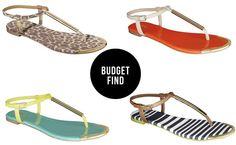 Budget Find: Mossimo Falk Sandal // $19.99