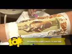 ▶ Artesanato: Decupagem em telhas - YouTube