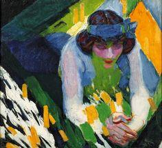 """František Kupka """"Ruban Bleu"""" 1910"""