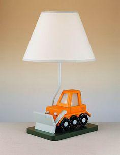 buldozer lamp with nightlight!