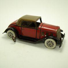 Marx Tin Landau Coupe Wind-up Toy - 1930's